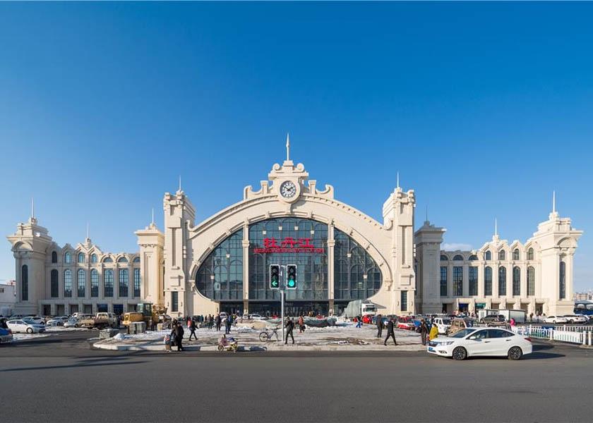 牡丹江高铁站