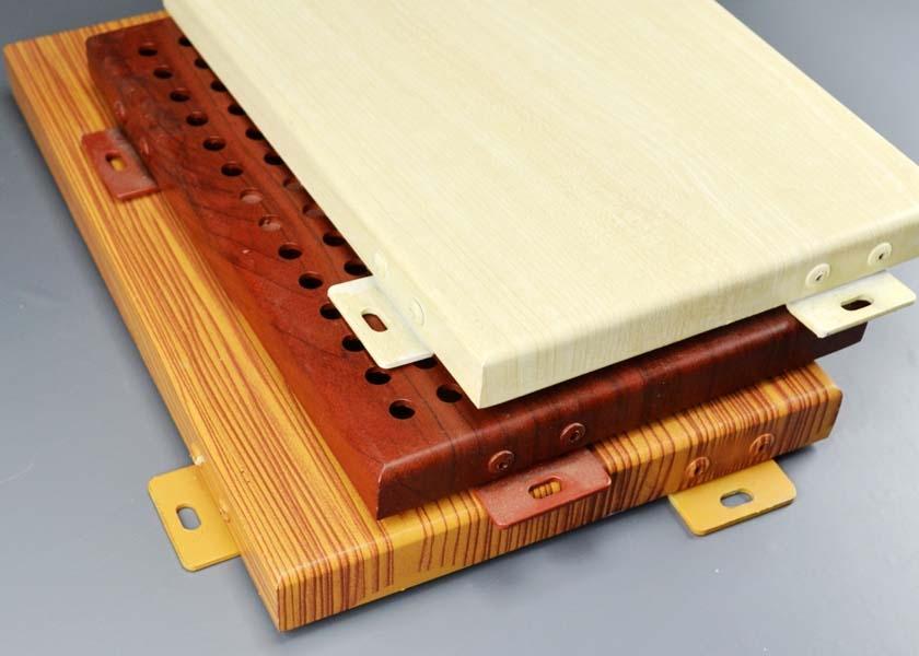广西仿木纹铝单板